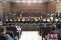湖北荆门开庭审理一起特大传销案 15名传销头目受审