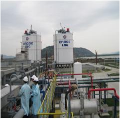 福乐斯弹性低温保冷系统用于LNG工厂