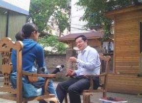 我司董事长雷云先生就人的城镇化接受福建电视台采访