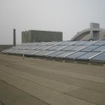 工厂宿舍太阳能热水工程案例图