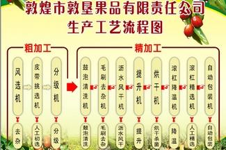 红枣加工生产工艺流程图