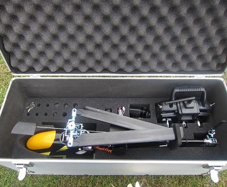3公斤设备携带上空