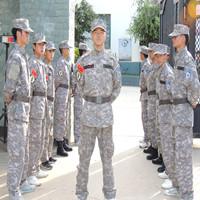 退伍军人组成的学校安保