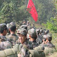 新生野外军事素质训练