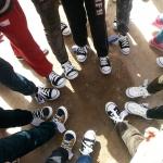 运动鞋带来的快乐