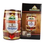 德国雪顶黑啤酒5升装