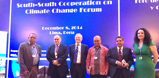 South-South Cooperation on Climate Change Forum - COP 20