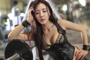 健身美女图片欣赏