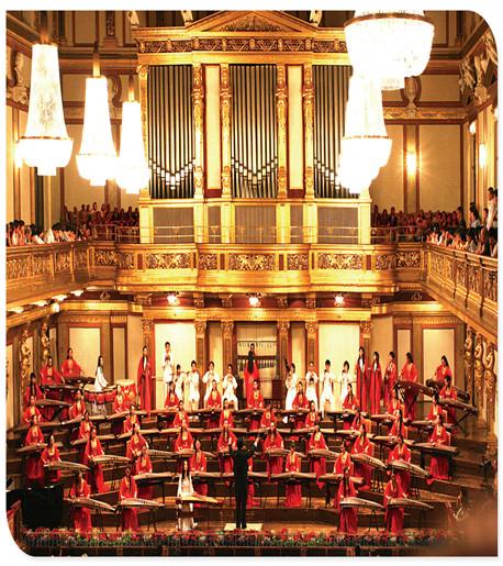王天一成功地在维也纳金色大厅举办了个人原创作品音乐会