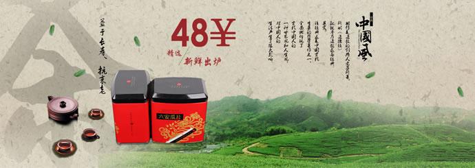 原产地直销六安瓜片特级绿茶100g限时特价买1送2买二加送水杯包邮