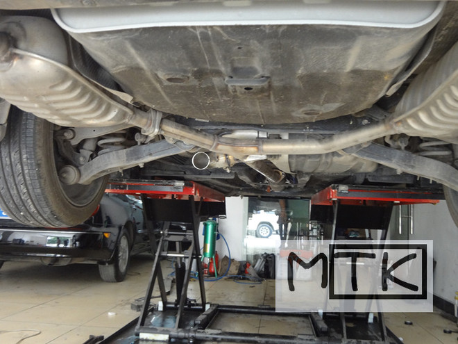 起亚K5改装遥控可变跑车声浪排气阀门炸街 微信136624252051高清图片