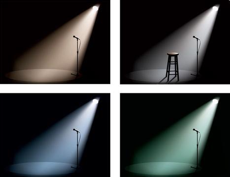 运用舞台灯光设备与各种灯光元件布置灯具位置