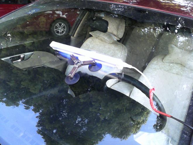 【别克凯越修补汽车玻璃效果图片