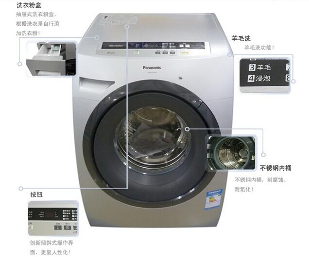 松下洗衣机xqg60-v64ns-大同恒盛电器有限公司