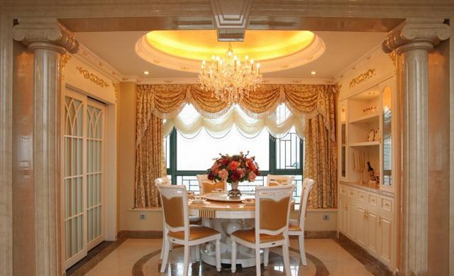 餐厅---500平欧式豪华别墅装饰