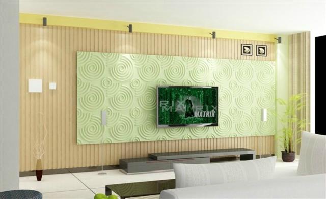 电视背景墙1_临沂众木康生态木业有限公司