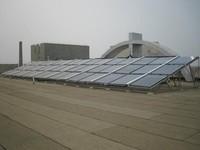 酒店太阳能热水工程安装