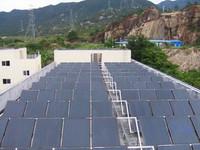 员工宿舍太阳能热水器安装
