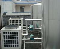 医院空气能热水工程案例图