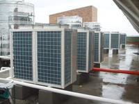 企业宿舍空气能热水工程安装
