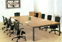 现代钢架会议桌HY-010