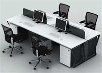 钢架组合办公桌XPF-009