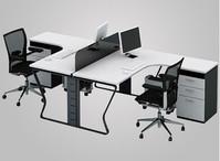 钢架组合办公桌XPF-010