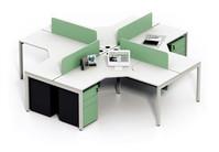 钢架组合办公桌XPF-011