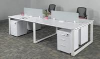 钢架组合办公桌XPF-015