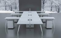 上海荣浜办公家具RBAM系列-DM员工桌