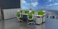 上海荣浜办公家具RBAM系列-IF绿色办公桌