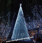 大型框架圣诞树 户外LED