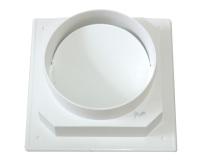 优质卫生间塑料烟道止回阀小b帽 两头圆止回阀