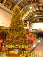 金色大型框架圣诞树 可生产4-20米