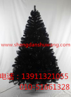 黑色圣诞树厂家直销 电话13911321055