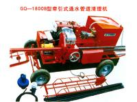 汕�^第一�_GQ-1800B型�恳�式通水管道清理�C�M�v汕�^