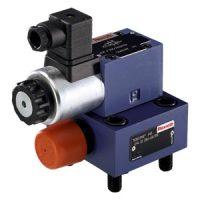二通插装阀逻辑元件-压力控制功能-静止位置关闭时的减压功能