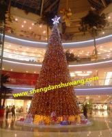 1至15米大小型金色圣诞树生产厂家直销