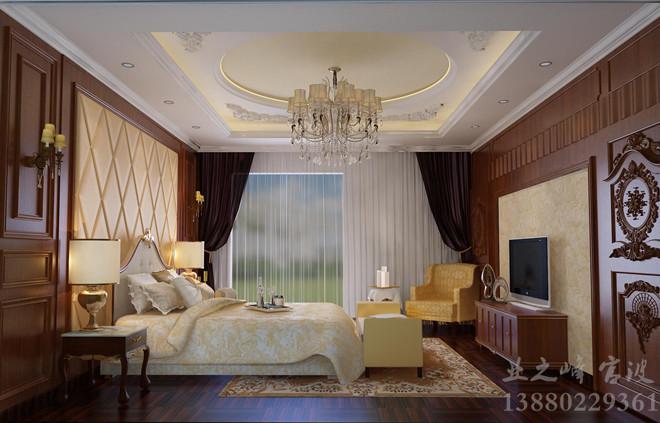 欧式风格 卧室装修效果图