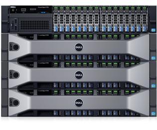 PowerEdge R730 - 虚拟化和云应用程序