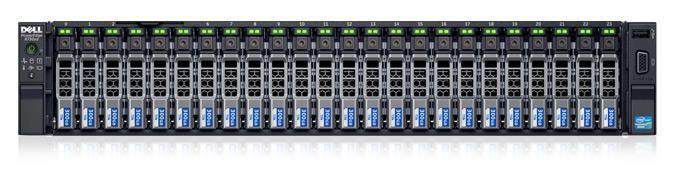 PowerEdge r730xd机架式服务器 - 加快工作负载处理速度