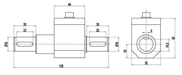 PTQ-500C动态微扭矩传感器