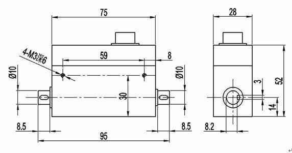 PTQ-500D动态微扭矩传感器