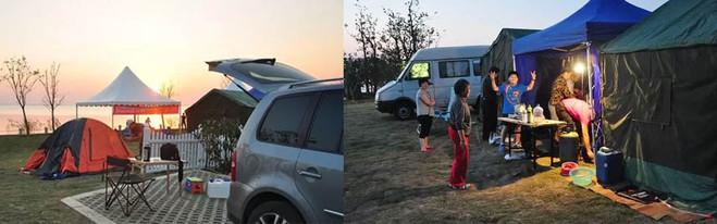 山林兵者房车露营基地 基地风光   营地坐落于河北兴隆县的六里坪4A国家森林公园内,分别与北京和天津接壤,道路通达,交通便利。 露营基地占地面积达200亩,可供游客使用自备露营设施如帐篷,营地租借的小木屋,移动别墅、房车等可供外出旅行短时间或长时间居住生活,并配有运动游乐设备,且娱乐活动、演出节目的公共服务设施齐全,是具备安全性有保障的娱乐休闲度假基地。场地自然起伏,层次分明,四面环山,山峦连绵不断,悬崖绝壁林立形成了理想的天然户外运动领地。  基地三大功能   基地的总体设计适应了目前国际和国内汽车露营