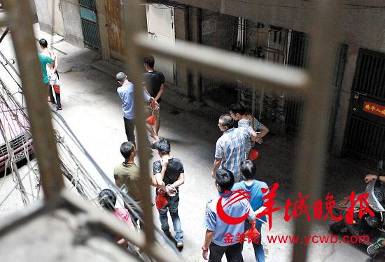 16人的抢劫加传销团伙被警方捣毁