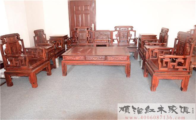 看连天红红木家具,年年红红木家具公司