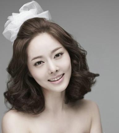 清新韩式新娘发型 打造短发公主