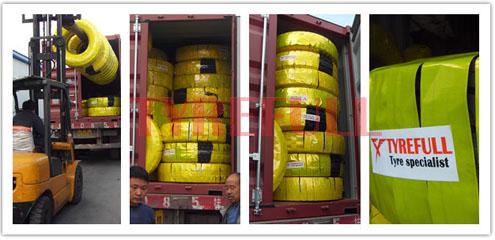 Truck tires Loading
