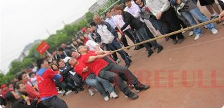 A TUG-OF-WAR COMPETITION