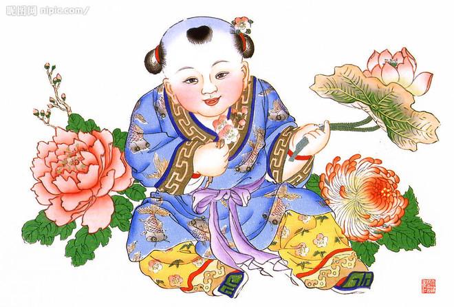 传统民间年画多用木板水印制作